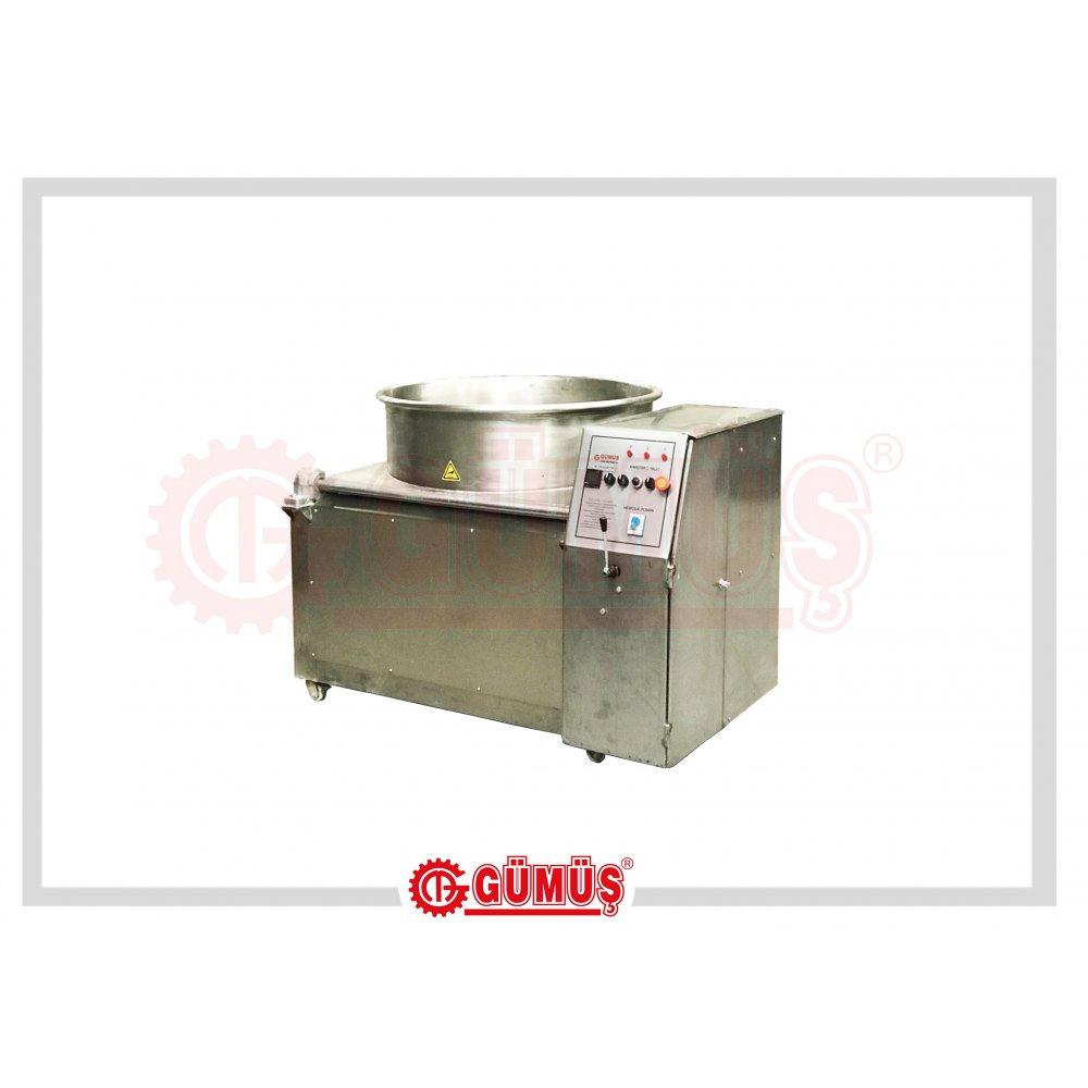 Alttan Karıştırıcılı Elektrikli Lokum Pişirme Makinesi