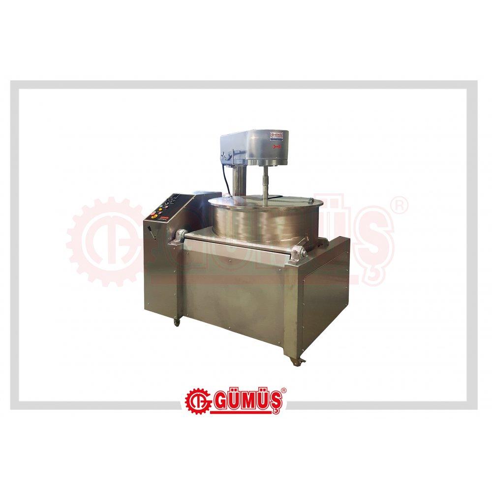 Üstten Karıştırıcılı Elektrikli Lokum Pişirme Makinesi
