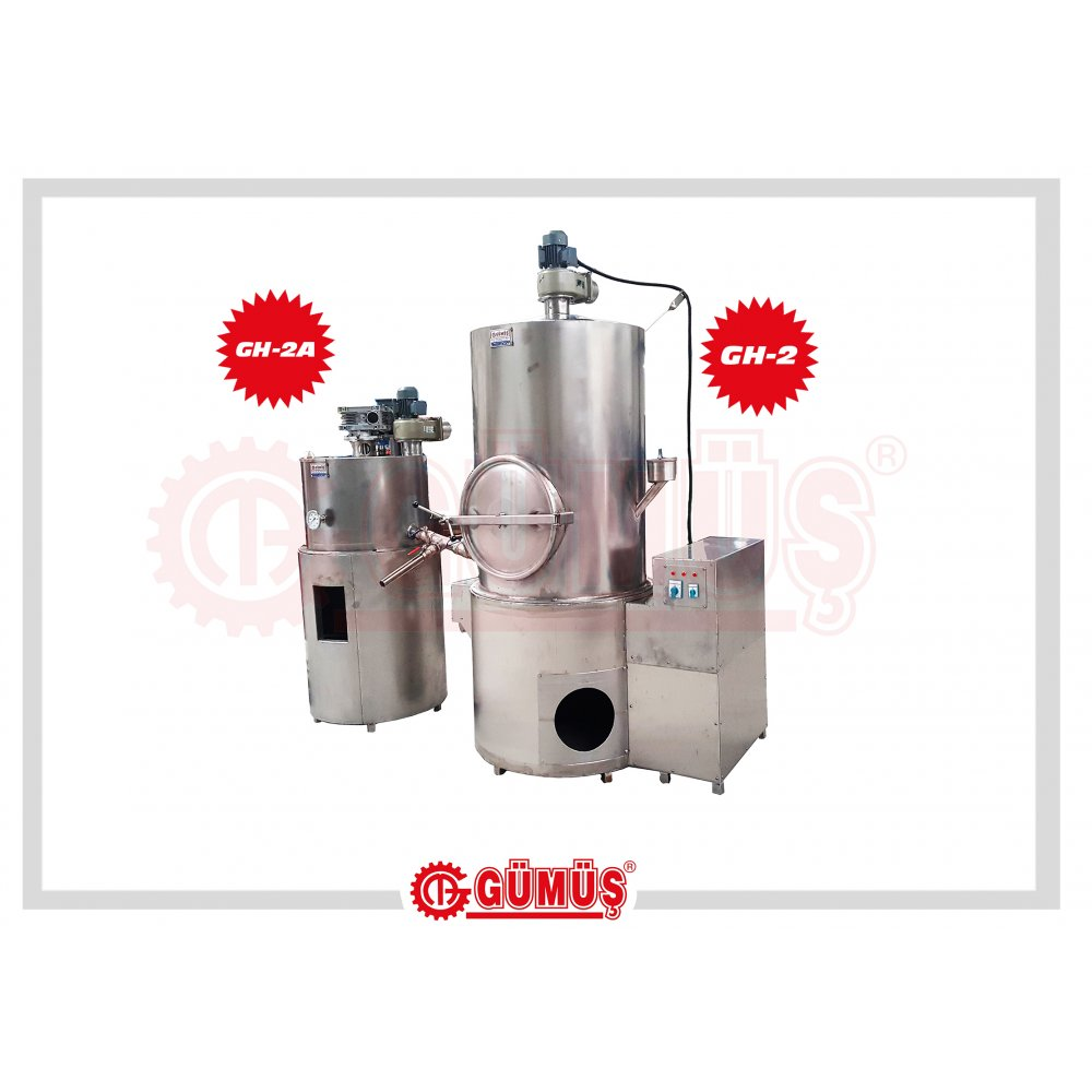 Sugar Boiler and Syrup Whitening Machine (Lip Unload)